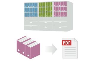 「文書の電子化」で業務効率をアップ